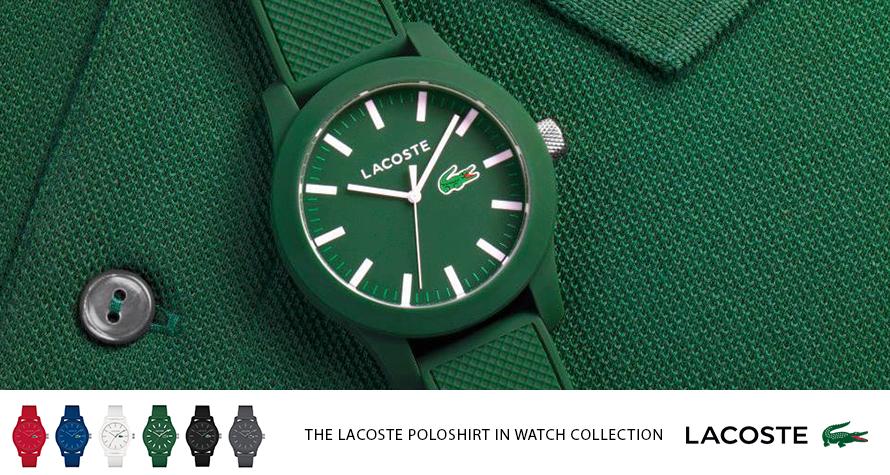 שעון לאקוסט ירוק